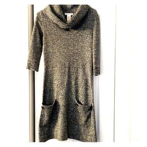 Women's fitted sweater dress